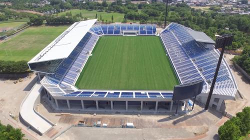 Kumagaya stadium will host the rugby world cup 2019.