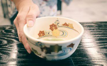 Sen no Rikyu, el maestro de la ceremonia del té, Osaka, Japon.