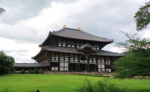 Le temple Tōdai-ji à Nara