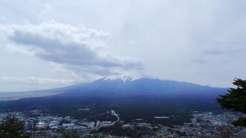 Vue sur le mont Fuji