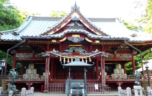 Bâtiment Yakuo-in Izunagongen-do du temple Yakuo-in au mont Takao