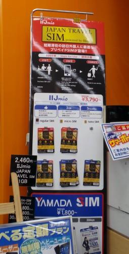 Une offre de cartes SIM prépayées, spéciale pour les voyageurs