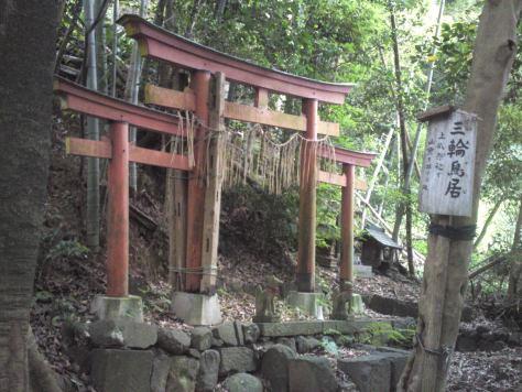 Torii, portail sacré à l'entrée des sanctuaires shinto