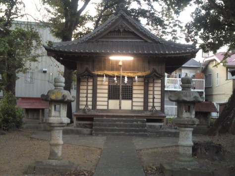 Sanctuaire de Ishida, Suruga Ku, ville de Shizuoka.