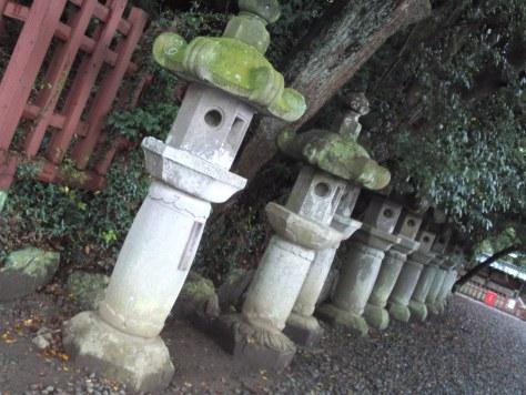 Lanterne de pierre de sanctuaire
