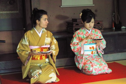 Tea ceremony in Izumi