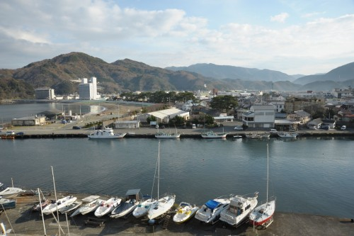 The port in Matsuzaki, registered as Top 100 of The Most Beautiful Villages in Japan