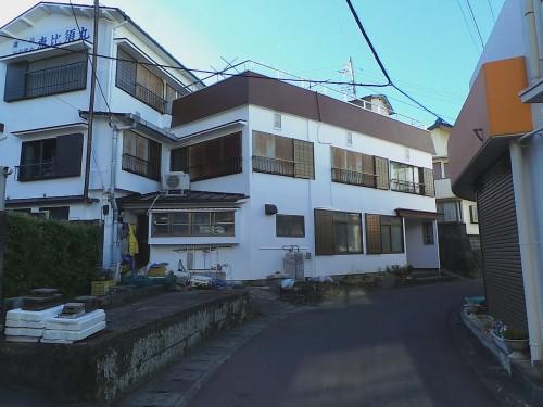 Minshuku at Kumomi onsen