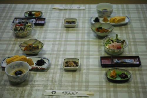 I very much recommend the breakfast served at the ryokan!