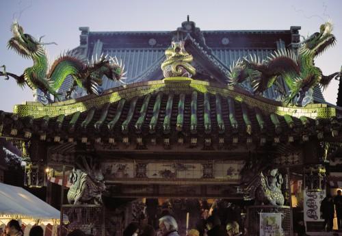 A temple in Yoshiwara