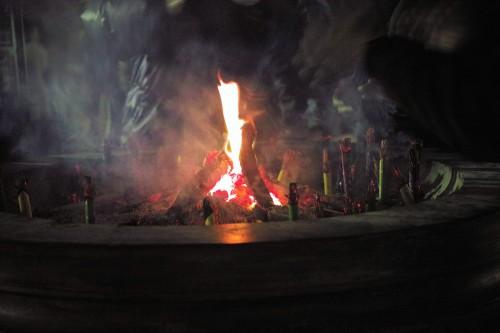 Takigi at yoshiwara, daruma festival