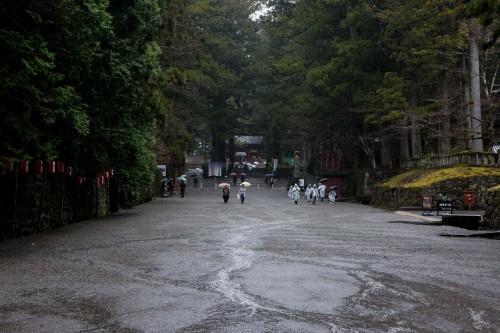 l'entrée pour accéder au sanctuaire Toshogu à Nikko