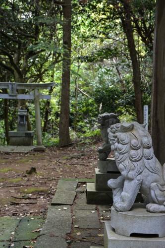 Le temple Hakogata Hachimangu Shaso à Gatsugi dans la préfécture de Niigata