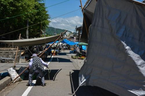 Le marché de Murakami qui a eu lieu 6 fois dans le mois