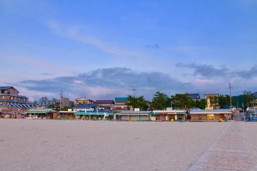 Wakasa Wada: les maisons de plage