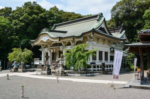 Le sanctuaire Takeo Shrine à Takeo Onsen dans la prefecture de Saga