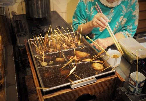Shizuoka, Aoba Yokocho, Oden, Streetfood