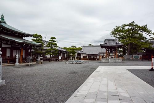 Le temple Zentsu ji dans la préfécture de Kagawa (Takamatsu)sur l'île de Shikoku
