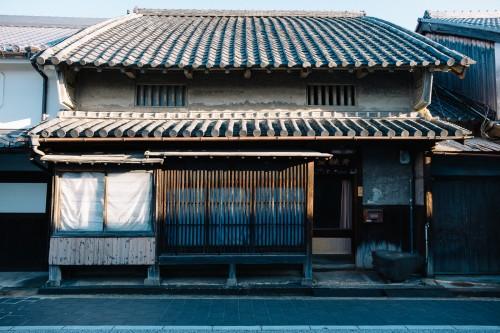 Kishiwada, Osaka, Kansaï, château japonais, Honmachi street