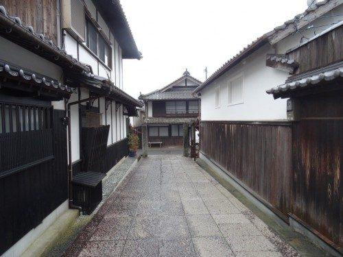 Du côté de la rue Nakanocho.
