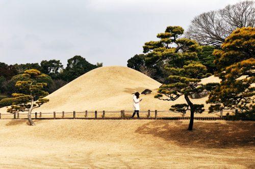 Parc Suizenji, jardin japonais, Kumamoto, Tokaido