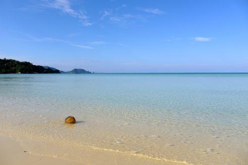 Plage prisée des habitants de l'île d'Ishigaki à Okinawa, Japon