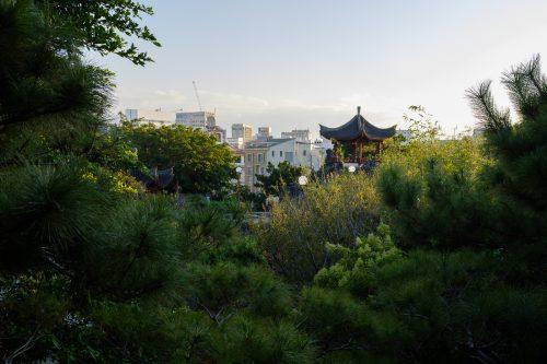 Vue de Naha dans la Préfecture d'Okinawa, Japon