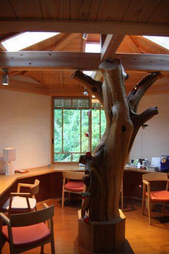Salle de repos au ryokan Yumeya à Iwamuro, près de Niigata au Japon