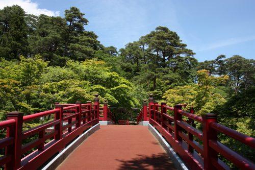 Parc de Yahiko aux alentours d'Iwamuro, près de Niigata au Japon