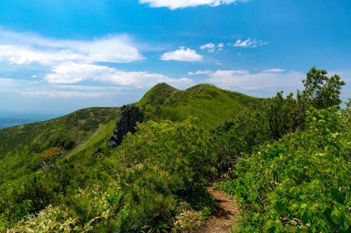 Sommet du Mt. Mokoto à Koshimizu, Hokkaido, Japon