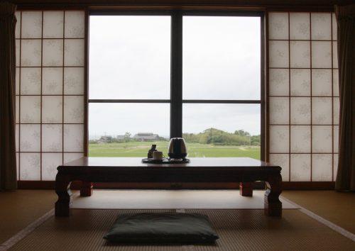 Ryokan Hananoki Inn sur l'île de Sado, dans la Préfecture de Niigata, Japon