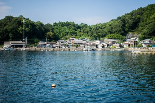 Fishing Village on Ohnyujima Island, Oita Prefecture, Japan