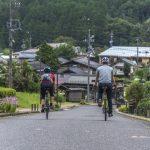 Randonnée aux ruines du château de Naegi et promenade cycliste à Nakatsugawa