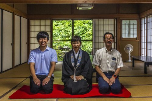 The welcoming tour guides of Nakatsugawa, Gifu Prefecture, Japan
