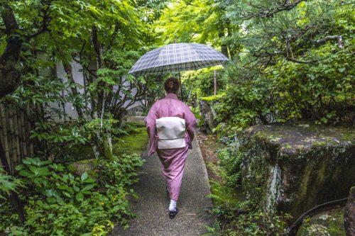 Hôtesse du restaurant Agemiya à Nakatsugawa, préfecture de Gifu, Japon