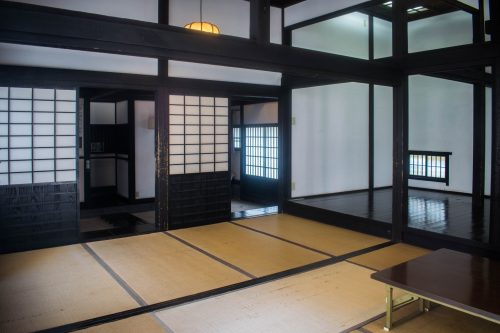 Traditional house in Usuki, Oita Prefecture, Japan