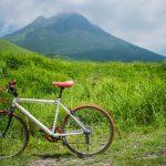 Randonnée à vélo depuis le Mont Yufudake, près de Yufuin