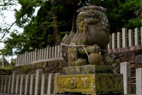 Sanctuaire à Wakasa-Wada à Takahama, préfecture de Fukui, Japon