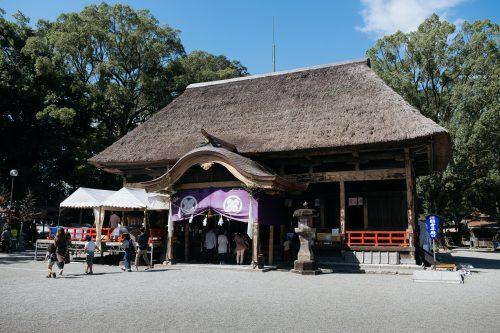 Shrine of Aoi Aso in Hitoyoshi, Kumamoto Prefecture, Kyushu, Japan