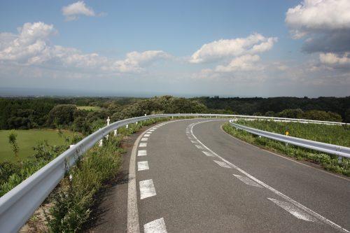 Du Mt Daisen à la Mer du Japon, préfecture de Tottori, Japon