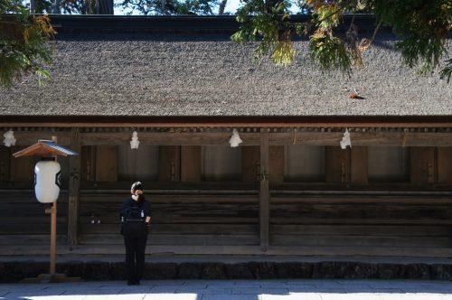 Izumo-taisha, le grand sanctuaire d'Izumo, région du San'in, préfecture de Shimane, Japon
