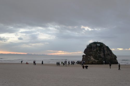 Inasanohama Beach, near the Great Izumo Shrine, San'in Region, Shimane Prefecture, Japan