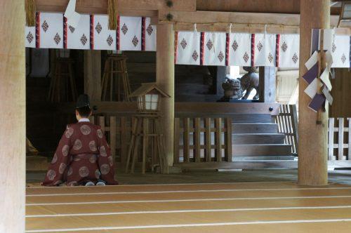 Sanctuaire Miho-jinja, à Mihonoseki, prefecture de Shimane, région du San'in, Japon