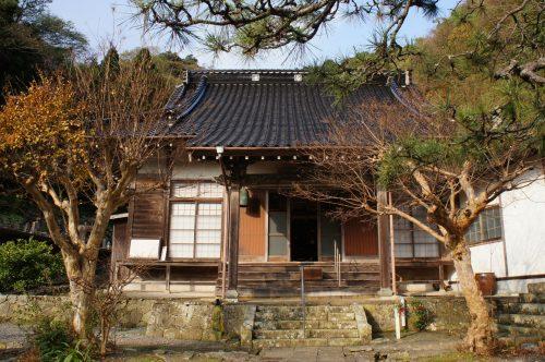 Temple Bukkoku-ji, à Mihonoseki, prefecture de Shimane, région du San'in, Japon