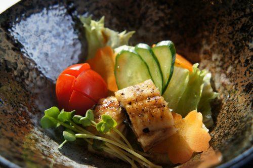 Restaurant Unagidokoro Yamamise, non loin du Musée d'art Adachi, Yasugi, préfecture de Shimane, région de San'in, Japon