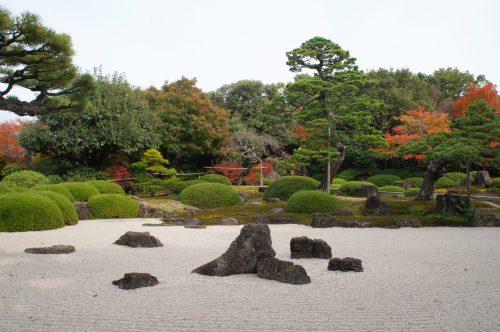 Jardin japonais Yuushien, non loin du Musée d'art Adachi, Yasugi, préfecture de Shimane, région de San'in, Japon