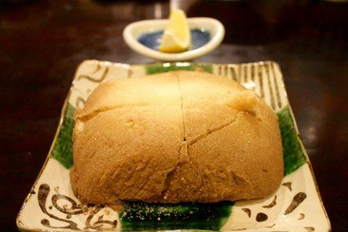 Plat du menu kaiseki au restaurant du ryokan Yukomansou à Asahidake Onsen, Hokkaido, Japon