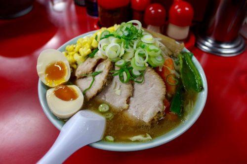 """Asahikawa, Hokkaido : """"specility ramen"""" du restaurant de ramen Baikouken"""