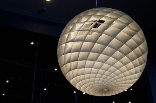 Lampe exposée à l' Asahikawa Design Center, Hokkaido