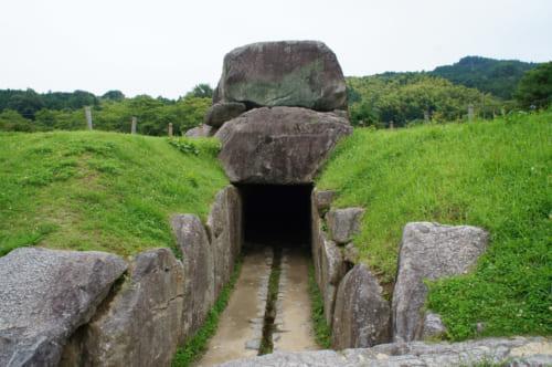 Le kofun d'Ishibutai à Asuka, Nara